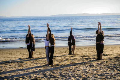 Private yoga instruction in Santa Barbara, CA with Fitness 805