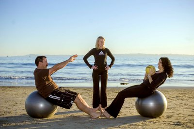 Vacation Work Outs Provided by Fitness 805 in Santa Barbara, CA